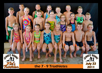 7 9 triathletes 5x7